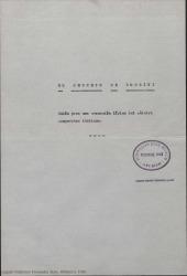 El secreto de Rossini : guión para una evocación lírica del célebre compositor italiano. Desarrollado en dos partes y un prólogo / por Guillermo y Rafael Fernández-Shaw. Adaptación y enlaces musicales por José Luis Lloret.