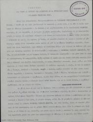 Memoria que eleva al consejo del Patronato de la Fundación Juan March, Guillermo Fernández-Shaw.