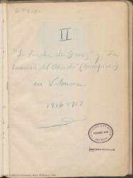 """Cuaderno 2 (1916-1917). Estrenos de las obras """"La canción del olvido"""" y """"La sonata de Grieg"""" en Valencia. Críticas en prensa y otros documentos."""
