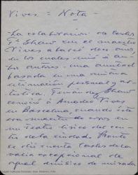 La colaboración de Carlos Fernández Shaw con el maestro Vives abarcó... / Guillermo Fernández-Shaw.