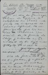 Se pone de largo una nieta de Don Alfonso XIII / Guillermo Fernández-Shaw.