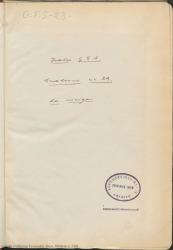 """Cuaderno 23 (Diciembre de 1929-Enero de 1930). Estreno de la obra """"La meiga"""" en Madrid y provincias, y representaciones de otras obras. Críticas en prensa y otra documentación."""