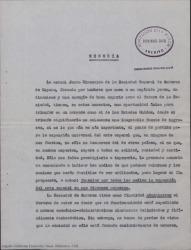 Memoria e informe de la Sociedad General de Autores de España.