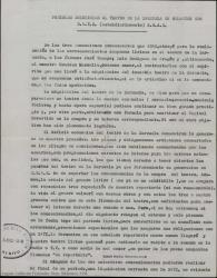Posibles soluciones al Teatro de la Zarzuela en relación con S.A.T.Z. (subsidiariamente) S.G.A.E.