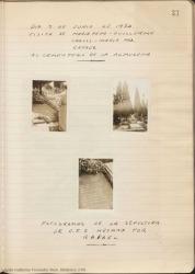 Fotografías de la sepultura de Carlos Fernández Shaw.