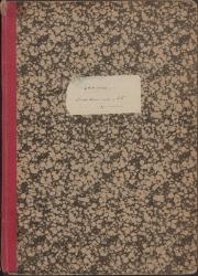 Cuaderno 35 (Octubre de 1943-Marzo de 1944). Estrenos y reposiciones de varias obras, y otras noticias. Críticas en prensa y documentación diversa.