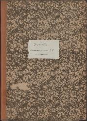 Cuaderno 39 (Noviembre de 1945-Abril de 1946). Noticias familiares. Reposiciones y estrenos de obras en distintas ciudades. Críticas en prensa y documentación diversa.