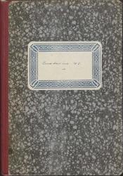 Cuaderno 41 (Marzo-Septiembre de 1947). Reposiciones de varias obras, homenaje a Guillermo Fernández-Shaw en El Escorial. Colaboraciones en prensa, y otras noticias. Críticas en prensa y documentación diversa.
