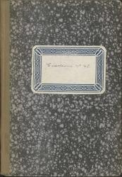 """Cuaderno 43 (Noviembre de 1947-Septiembre de 1948). Cincuenta aniversario del estreno de """"La Revoltosa"""". Espectáculo """"Alforjas para la poesía"""". Otras noticias. Críticas en prensa y documentación varia."""