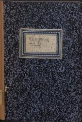 """Cuaderno 71 (Marzo-Junio de 1958). Homenaje anual a los hermanos Álvarez Quintero. Colaboraciones de Guillermo Fernández-Shaw en prensa. Estreno de """"Doña Francisquita"""" en Viena. Noticias familiares."""