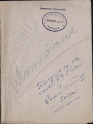Villamediana : leyenda lírica en un prólogo y cinco cuadros, original y en prosa y verso / Carlos Fernández Shaw.