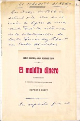 Cuaderno 7 (1906-1908). Estrenos y artículos de zarzuelas y publicación de libros de Carlos Fernández Shaw.