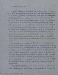 Carta de Federico Romero a Guillermo Fernández-Shaw explicándole, muy extensamente, la grave situación económica y moral en la que se encuentra, como ha llegado a ella y la desesperanza que siente en estos momentos.