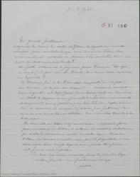 """Carta de Pierre de Vignier a Guillermo Fernández-Shaw, remitiéndole una carta de Alfred Gehri y felicitándole por """"La tabernera del puerto"""" obra que ha ido a ver recientemente."""