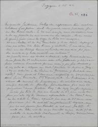 """Carta de Pierre de Vignier a Guillermo Fernández-Shaw, alegrándose de las buenas noticias sobre """"Sexto piso"""", queriendo saber detalles para escribir a Alfred Gehri y sintiendo que """"Bolero"""" haya sido rechazado por la censura."""