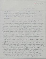 """Carta de Pierre de Vignier a Guillermo Fernández-Shaw, pidiéndole que le envíe el dinero que ha cobrado en su nombre y diciéndole que ha tenido carta de Alfred Gehri quejándose de que no ha recibido aún dinero alguno por """"Sexto piso""""."""