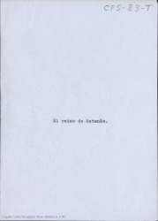 El reino de Satanás / Carlos Fernández Shaw.