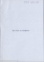 Una tarde en Greenwood / Carlos Fernández Shaw.