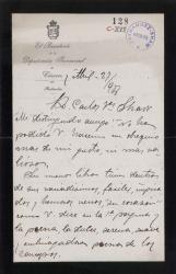 Cartas de Luis Grande a Carlos Fernández Shaw y Cecilia Iturralde, su esposa.