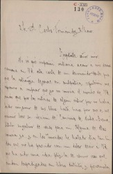 Cartas de M. Mutuberría a Carlos Fernández Shaw.