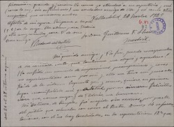 Carta de Víctor Redondo del Castillo a Guillermo Fernández-Shaw, agradeciendo su carta y hablando sobre su último éxito.