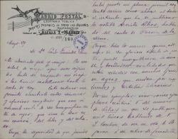 Cartas de Leocadio Martín Ruiz a Carlos Fernández Shaw.