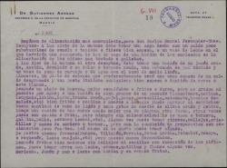 Diagnóstico, prescripción médica y régimen alimenticio recomendado por el Dr. Gutierrez Arrese a Carlos Manuel Fernández-Shaw.