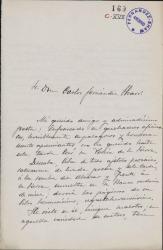 Cartas de José Rodao a Carlos Fernández Shaw.
