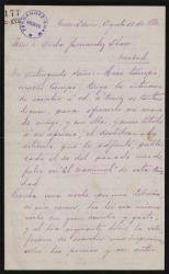 Cartas de David Peña a Carlos Fernández Shaw.