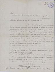 Cartas de Francisco de Iracheta a Carlos Fernández Shaw y Cecilia Iturralde, su esposa.
