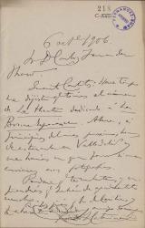 Cartas de Ricardo J. Catarineu a Carlos Fernández Shaw.