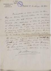 Cartas de Francisco Villaespesa a Carlos Fernández Shaw.