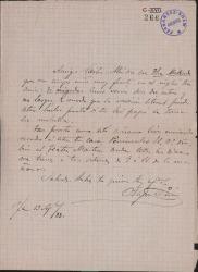 Cartas de Felipe Pérez a Carlos Fernández Shaw.