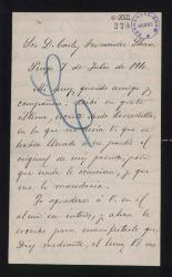 Cartas de Carlos Valverde a Carlos Fernández Shaw.