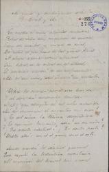 Cartas de Francisco Flores Arenas a Carlos Fernández Shaw.