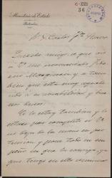 Cartas de Manuel del Palacio a Carlos Fernández Shaw.