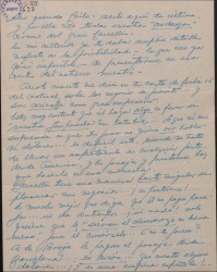 Carta de Ernesto Lecuona con amplios comentarios sobre su proyectado viaje a Madrid.
