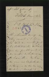Cartas de firma ilegible a Carlos Fernández Shaw.