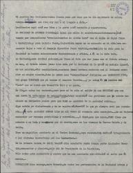 Carta de Ernesto Lecuona a Guillermo Fernández-Shaw, contándole ciertas incidencias de la Sociedad de Autores de Cuba.