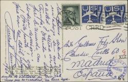 Tarjeta postal de Ernesto Lecuona a Guillermo Fernández-Shaw, enviándole un saludo desde Tampa.