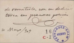Cartas del Marqués de Pidal a Carlos Fernández Shaw.