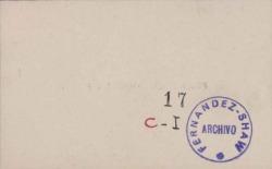 Cartas de Francisco Codera y Zaidín a Carlos Fernández Shaw.