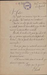 Cartas de Eduardo Benot a Carlos Fernández Shaw.