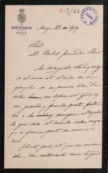 Cartas de Daniel de Cortázar a Carlos Fernández Shaw y Cecilia Iturralde, su esposa.
