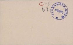 Cartas de Enrique Hauser a Carlos Fernández Shaw.