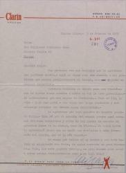 Carta de Rodolfo Arizaga a Guillermo Fernández-Shaw, dándole noticias y comentando que el tema del libro sobre Falla está parado porque todo el mundo está de vacaciones.