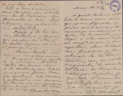 Cartas de Wenceslao Bueno a Carlos Fernández Shaw.