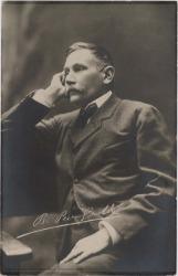 Fotografía de Benito Pérez Galdós.