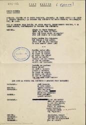 Fray Martín : ópera / [libro de Guillermo Fernández-Shaw ; música de Ernesto Pérez Rosillo y Enrique Massó].