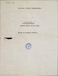 Osadía : comedia lírica en dos actos / Guillermo y Rafael Fernández-Shaw ; música de Cristóbal Halffter.